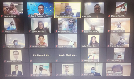 Virtual Training on Prevention of Money Laundering and Combating Financing against Terrorism